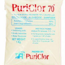 cloro granulado al 70%