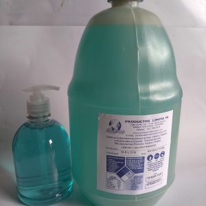 jabón liquido antibacterial